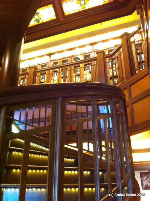 Cunard - Library - Aboard Queen Victoria