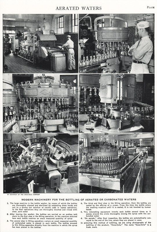 1953 COCA COLA Print Feature • Soda Bottling Plant by phorgotten