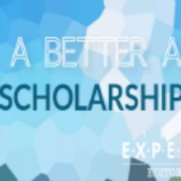 2016 Better Australia Scholarship Program , and applications are submitted till 31 December 2015 . The Expert Editor invites applications for Australia scholarship program available for student enrolled in a degree at an accredited university in the Australia. This scholarship will be open to an Australian citizen or permanent resident. International students are welcome to apply, but they must demonstrate how they will see through their change-making agenda after they graduate.