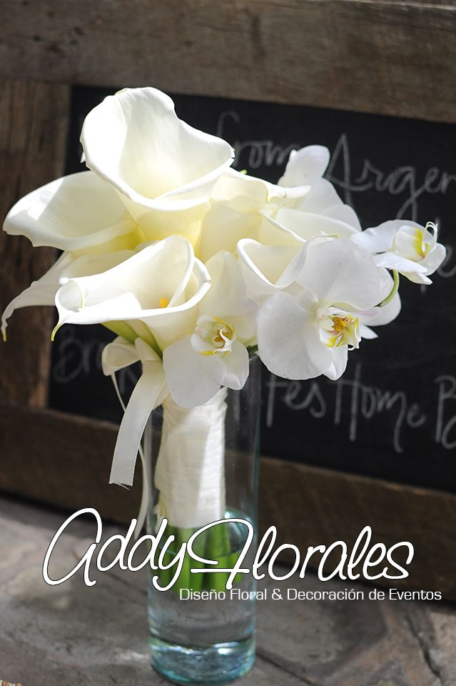 Calla Lily Orchids Bouquet