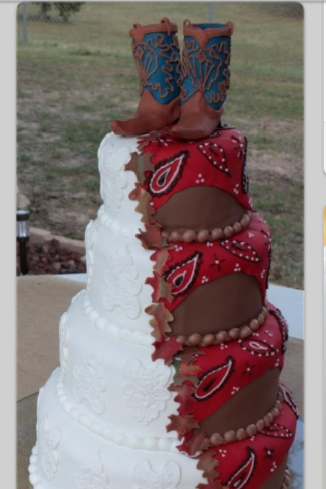 Country Cowboy want this wedding cake SO adorable