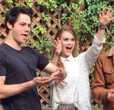 Dylan O´brien and Holland Roden