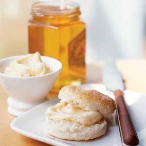 Orange Blossom Honey Butter   MyRecipes.com