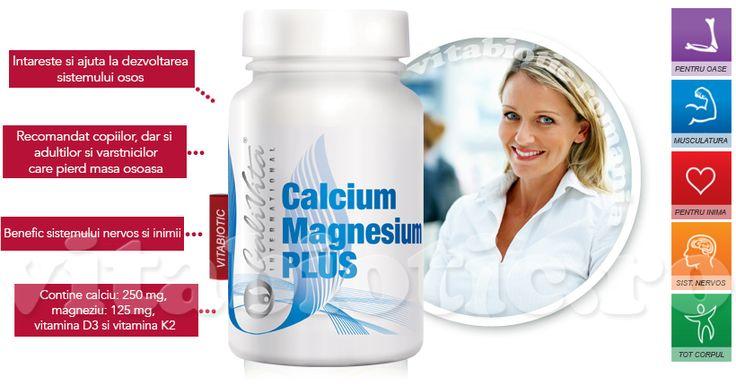 Calciu, magneziu cu vitamina d3 si vitamina k2, pret si prospect de la Calivita. Cums e administreaza calciu si magneziu pentru copii, beneficiile calciului si magneziului pentru oase, inima, musculatura. De ce se iau calciu si magneziu impreuna. Doza recomandata de calciu si magneziu in timpul sarcinii!
