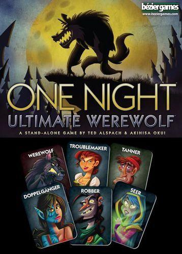 One Night Ultimate Werewolf - Buy Games Online - Brisbane City - Gold Coast - Mind Games