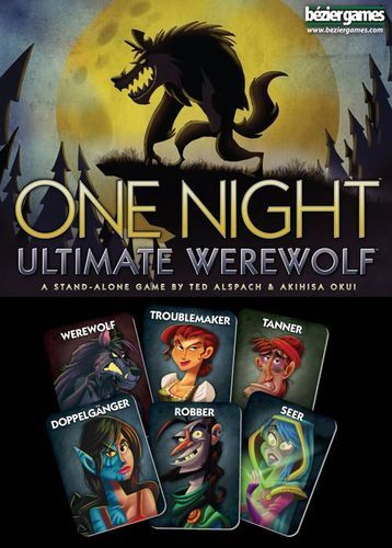 One Night Ultimate Werewolf - Buy Games Online - Brisbane City - Gold Coast - Mind Games