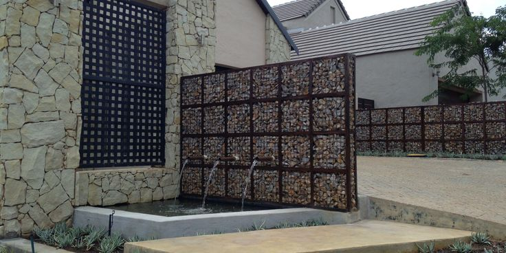 "Ever used the term ""gabion wall""? Sounds a little strange but it's basically just the marriage between rocks and wire. These two simple materials are very"