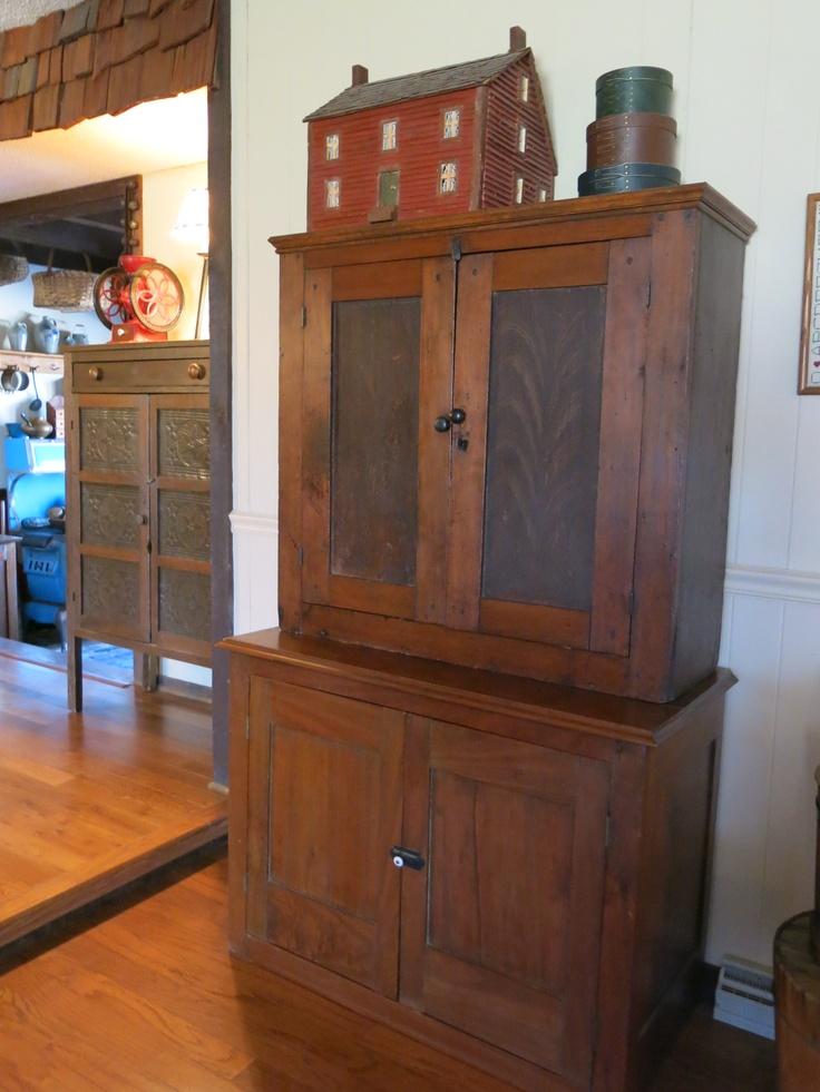 Antique cupboard   Primitive FurniturePrimitive. 449 best Primitive Wooden Furniture images on Pinterest