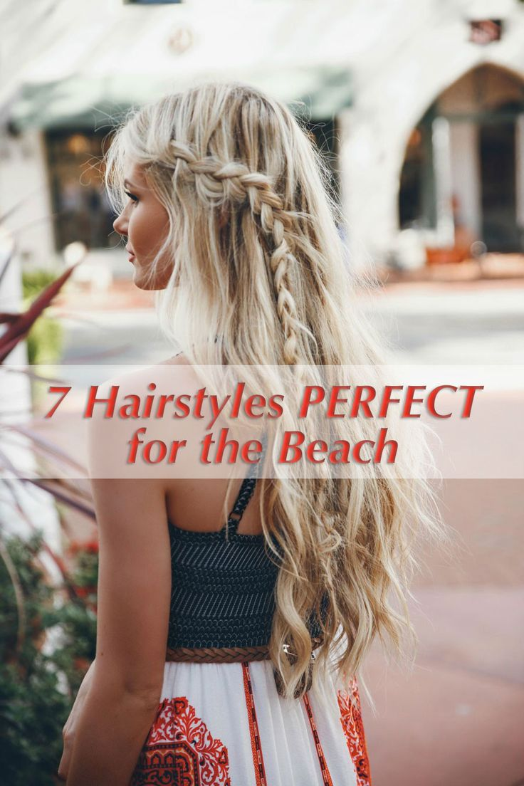 Before heading out to the beach this summer, consider trying out one these cute hairstyles http://goinspi.re/1IHt5n8
