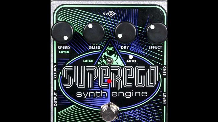 "Electro-Harmonix ""Superego Synth Engine"" Effectology Special Edition"