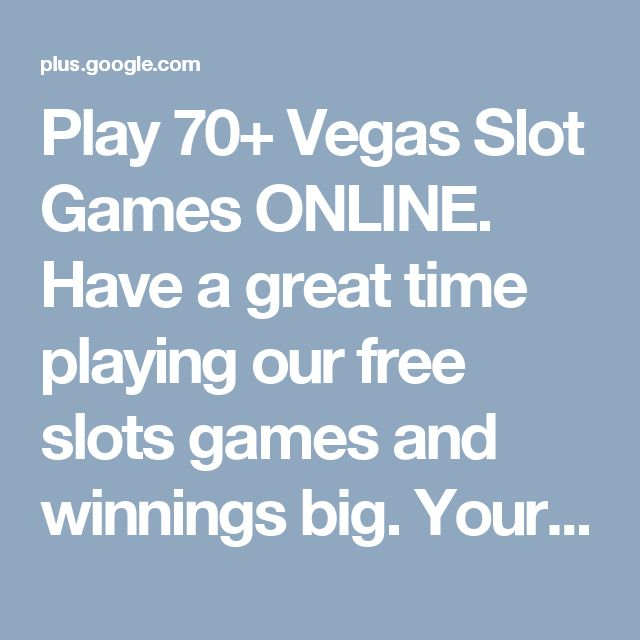 Play 70+ Vegas Slot Games ONLINE. Have a great time playing our free slots games and winnings big. Your favorite FUN SLOT GAMES & Online https://twitter.com/realcasinogames/ Casino Games as Jackpot Party & Quick Hit ...