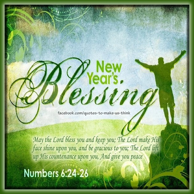 New Year S Blessings Quotes. QuotesGram