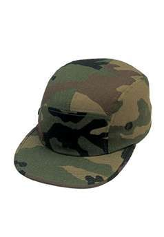 Ultra Force Woodland Camouflage Military Street Cap | Buy Now at camouflage.ca