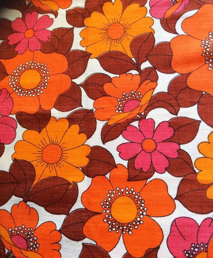 A personal favorite from my Etsy shop https://www.etsy.com/listing/232008501/60s-mod-floral-fabric-swedish-bold