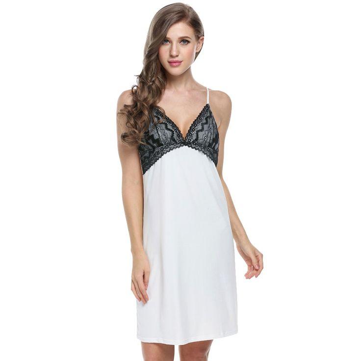 Night Gown Women Sexy Sleep dress