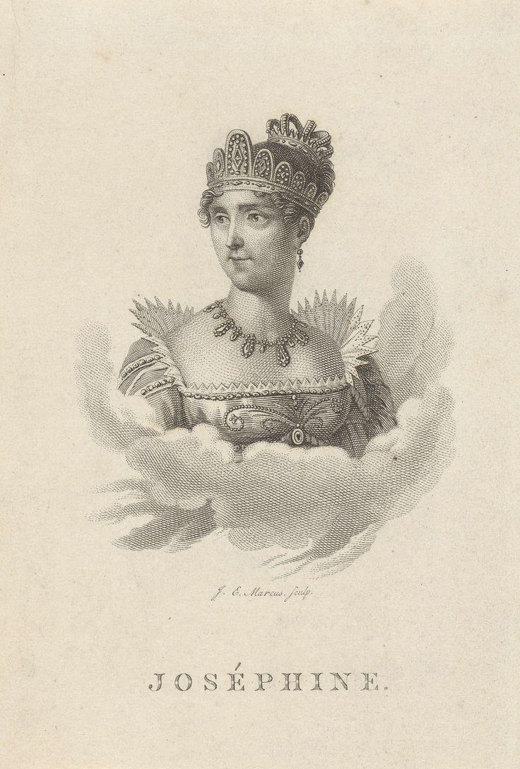 Josephine, keizerin der Fransen, Jacob Ernst Marcus, 1811