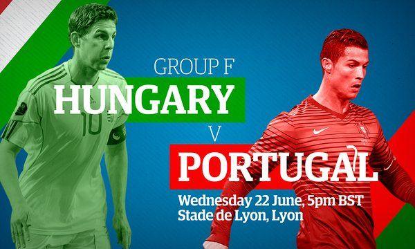Hungary v Portugal: Euro 2016  live!