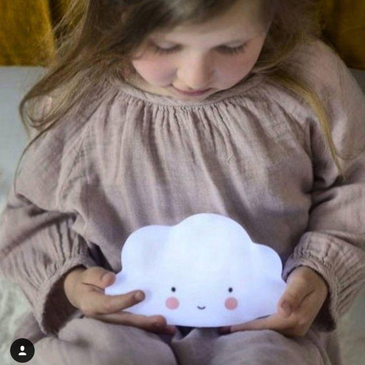 Portable and Safe Cloud Led Kids Night Light