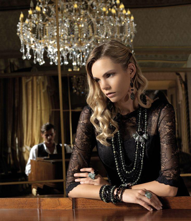 Della Rovere   gioielli in argento e pietre dure   Romantiche