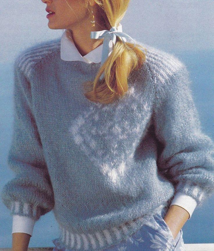 55 Best Blue Vintage Knitting Patterns Images On Pinterest