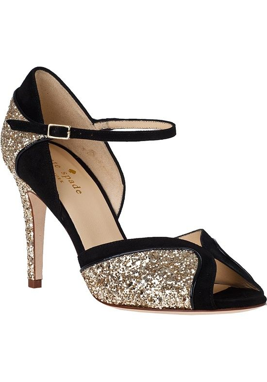 Walk a mile in these shoes a girl can wish Glittery gorgeous Kate Spade Corinne evening sandals shoes heels fashion sparkly 5421 |2013 Fashion High Heels|
