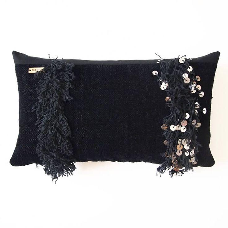 Handira Noir 30x50 -tyynynpäällinen