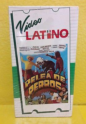 PELEA DE PERRORS - VHS - NUEVO SELLADO-  GERARDO REYES- JULIO ALEMAN