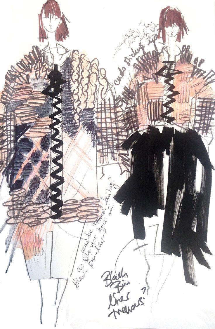The 25+ best Fashion sketchbook ideas on Pinterest | Fashion ...