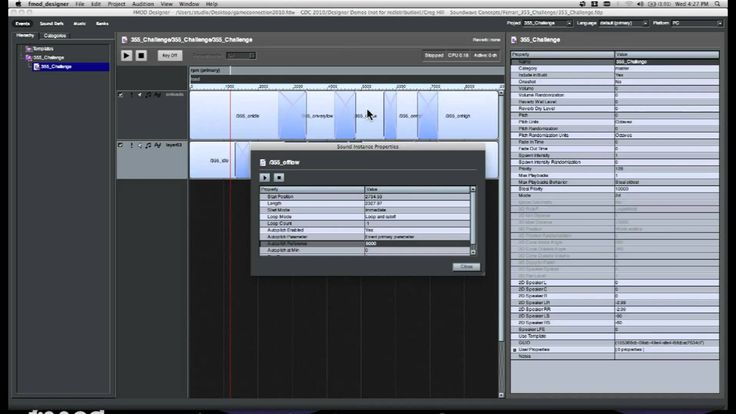 FMOD Tutorial 6 - Advanced Multitrack Event Functionality