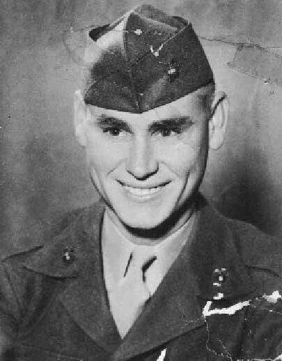 George Jones.  Served in the U.S. Marine Corps during the Korean War.