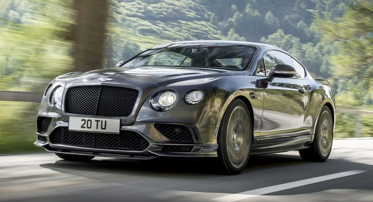 The new Bentley Continental Supersports has been officially unveiled, and it's a riot of numbers. The 6.0 litre, twin-turbocharged W12 engine now produces