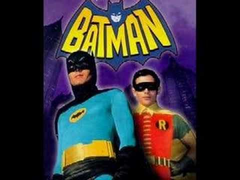 ▶ Old Batman TV Show Theme Song - YouTube (just music)
