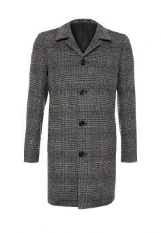 Пальто Mango Man, цвет: серый. Артикул: HE002EMMPC18. Мужская одежда / Верхняя одежда / Пальто