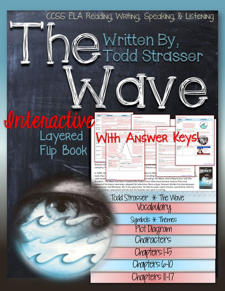 the wave  by todd strasser novel study literature guide