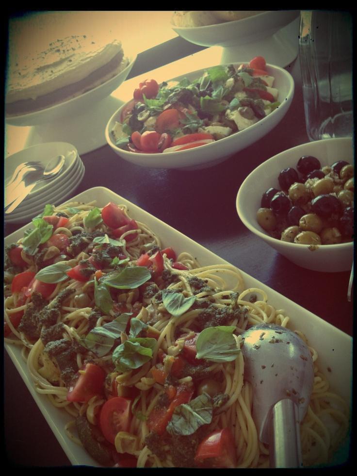 Italian pique nique at home ^_^