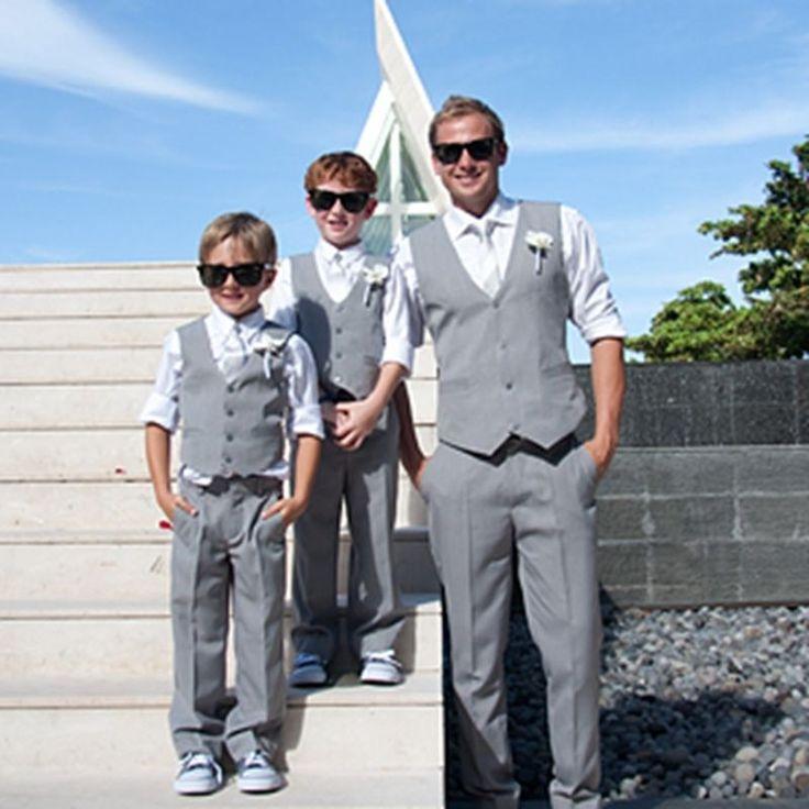 Hot Wedding Men Suits Formal Boy Suits Groom Groomsmen