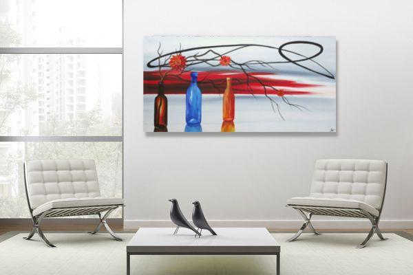 Modern dekoráció mely magával ragad a képzelet és a fantázia világába. Kézzel festett vászonképek: www.ovardesign.hu