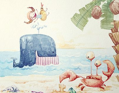 "Check out new work on my @Behance portfolio: ""Beach"" http://be.net/gallery/37792545/Beach"
