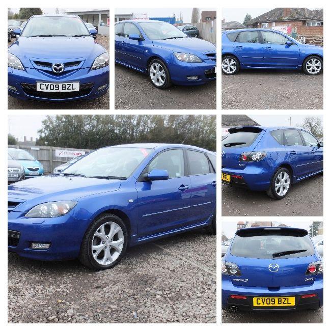 Mazda 3 2009 Blue Hatchback, 66000 Miles, £5,999.00 #usedcar #forsale #advert #car https://www.v5cars.co.uk/buy-used-car/91/mazda/mazda3
