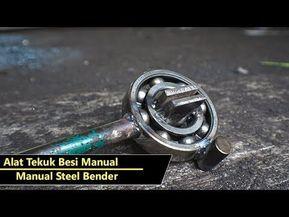 Manual Steel Bender – YouTube