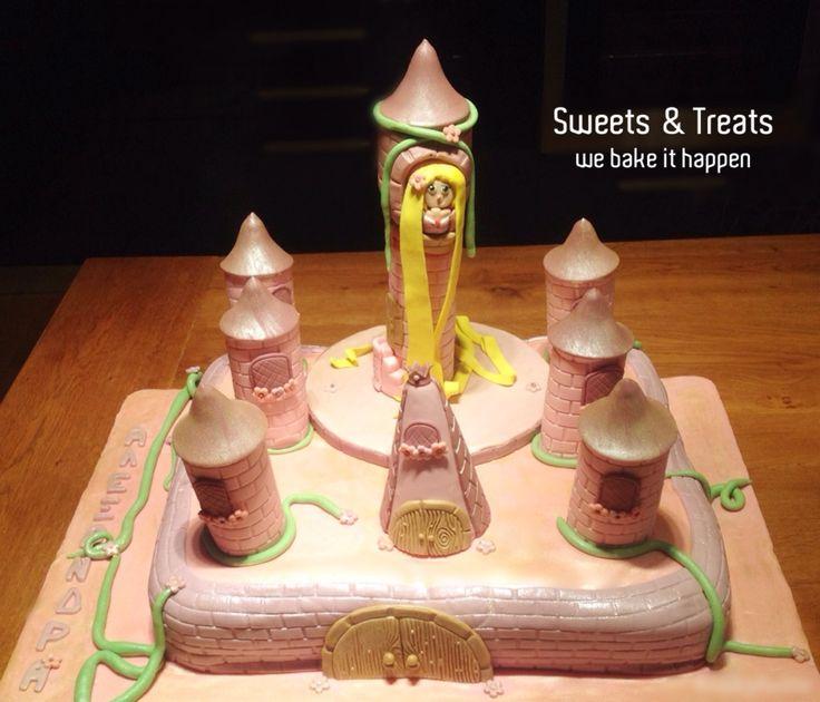Rapungel - Castle cake
