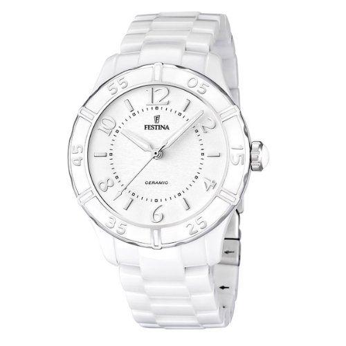 Festina Women's Quartz Watch with White Dial Analogue Display and White Ceramic Bracelet F16621/1 Festina http://www.amazon.co.uk/dp/B009LCK3M8/ref=cm_sw_r_pi_dp_76QMwb141QB4D