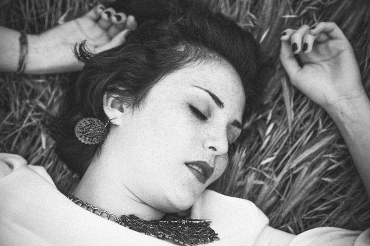 portrait, black&white , face , girl , silence
