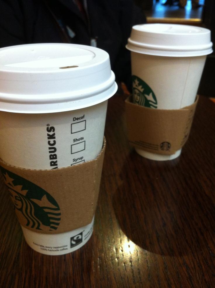 Starbucks- Salted Caramel Hot Chocolate & Cappuccino