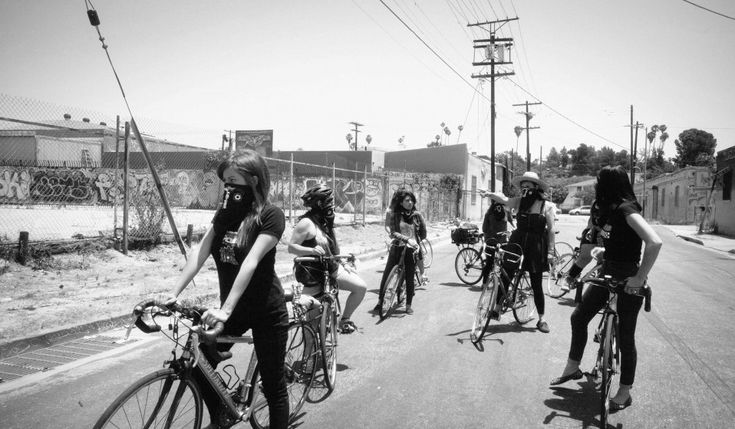 Cycling collective Ovarian Psycos are pedalling towards a new chapter in Los Angeles' rich history of resistance.