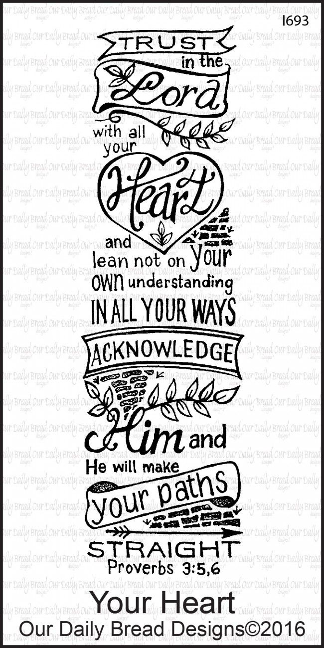 Our Daily Bread Designs: YOUR HEART