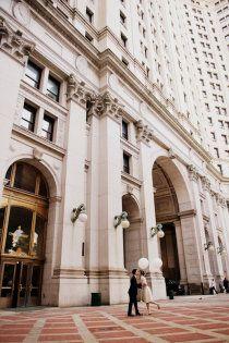 intimate new york city hall wedding