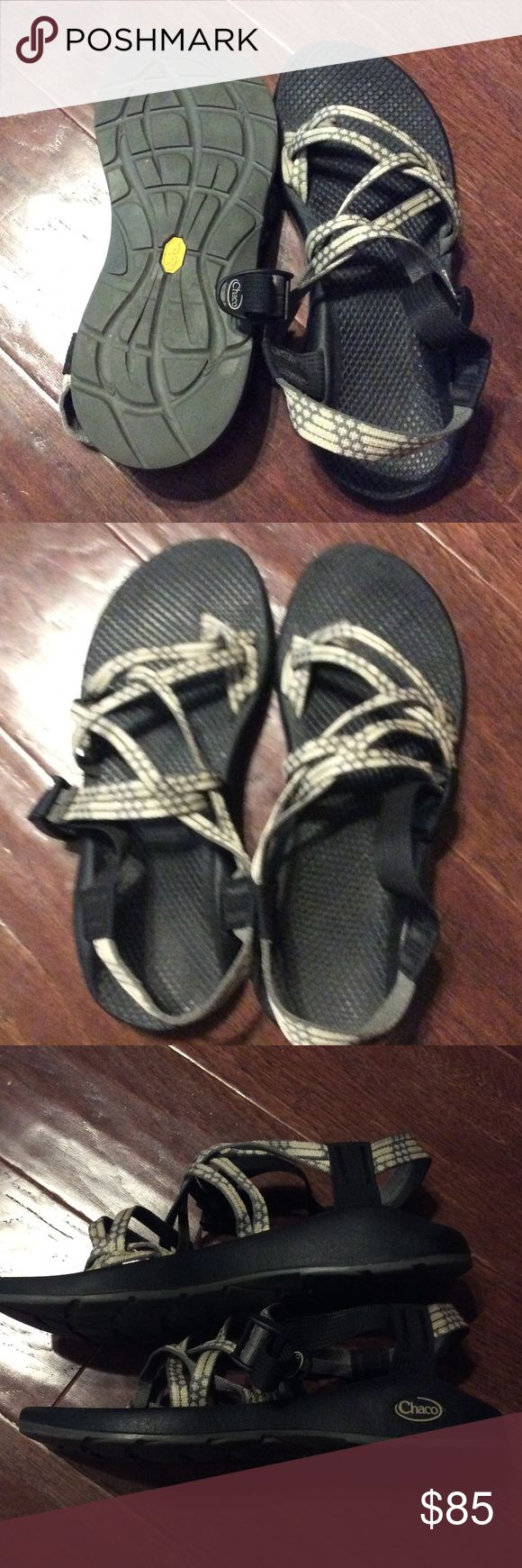 Women's Chaco Sandals in color light beam These sandals have only been worn twice and have been properly taken care of. I am selling because I don't get much use out of them and hardly wore them since the time I've had them. No trades please. Chacos Shoes Sandals