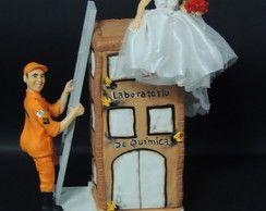 topo de bolo noivinho bombeiro