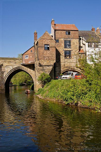 Old Elvet Bridge, County Durham, England